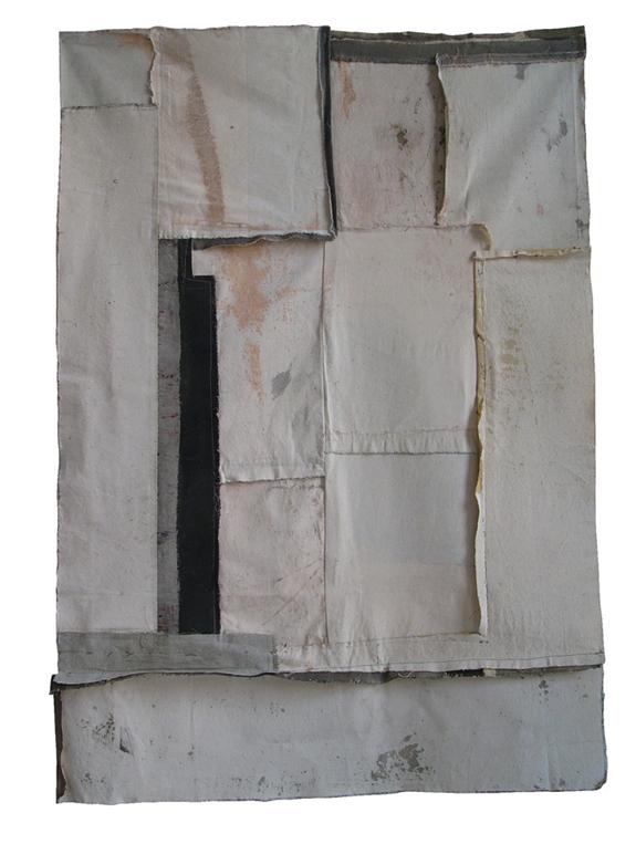 Fragmento 4 | 2000 | Técnica mixta | 75 x 120 cm
