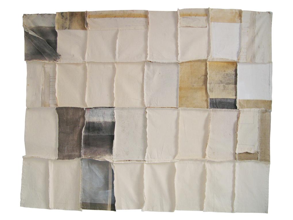 Fragmento 5 | 2000 | Técnica mixta | 175 x 150 cm
