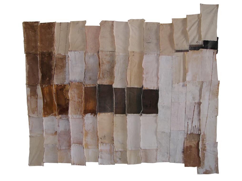 Fragmento 7 | 2000 | Técnica mixta | 175 x 150 cm