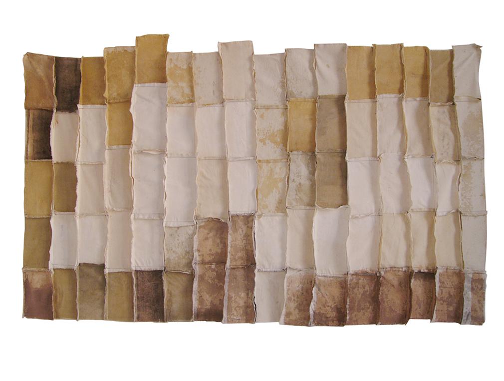 Fragmento 8 | 2000 | Técnica mixta | 175 x 130 cm